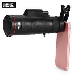 2019 монокуляр hd JINJULI 35X50 монокулярный телескоп ночное видение HD широкий-угол призмы, объем с телефона профессиональный клип монокуляр 7 дней доставки дешево монокуляр hd