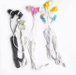 Noise ear plugs online-Auriculares 3.5mm Plug In-ear MP3 MP4 auriculares más baratos ruido de auriculares Cancelación para teléfono MP3 auriculares de teléfono MP4