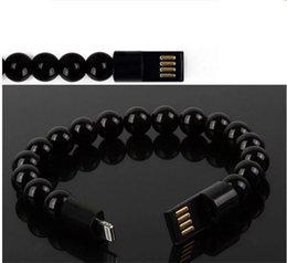 bar anti statico Sconti VENDITA CALDA Il nuovo braccialetto buddista cavo dati cavo USB android iphone MICRO braccialetto creativo linea di ricarica
