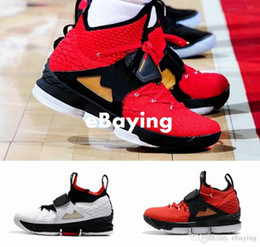 Wholesale Generation Green - 2018 New King 15 J 15s Red Diamond Turf AZG Zoom Generation Mens Basketball Shoes Black White Alternate Edition Sneakers Size US 7-12
