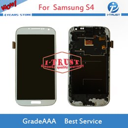 Wholesale I545 Screen - TFT Adjustable For Samsung S4 i9500 i9505 i545 i337 M919 L720 LCD Display Screen Digitizer With Free Reparie tools and free Shipping