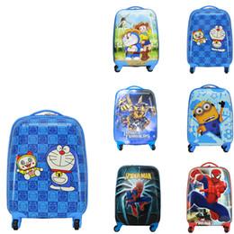 "Rueda de rollo online-18 ""Maleta de mano con ruedas Ruedas para niños Equipaje giratorio Bolsa de equipaje para equipaje de viaje para niños"