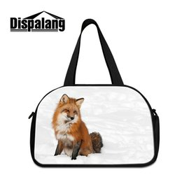Wholesale Animal Print Duffel Bag - Animal Print Sports Shoulder Tote With Shoes Bag Handbag GYM Duffel For Adults Kid Running Swimming Skiing Athletics Backetball Sport Travel
