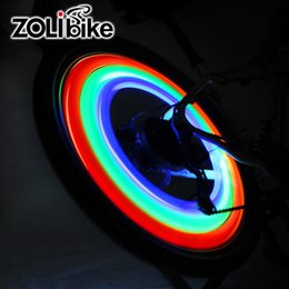 Wholesale Lighted Willow - ZOLibike 10 Pieces Wheel Signal Tire Spoke Light Cycling Bicycle Bike Battery Light Riding Wheel Spokes Reflective Willow Lights