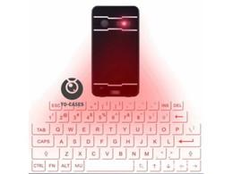 Teclado do laser Teclado da projeção do laser de Bluetooth com função do rato para o teclado inglês do computador da tabuleta de Fornecedores de tablet rosa preto