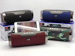 Dactylographie en Ligne-Haut-parleur Bluetooth sans fil L2-E22 Support de carte mobile pour subwoofer de carte portable Type de courroie extérieure Audio Bluetooth