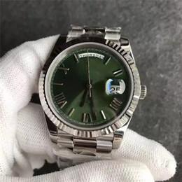 Nouveau Rome hommes montre mouvement automatique verre saphir visage vert Stainess original bracelet vente chaude Sweep Mechanics montre homme montre-bracelet ? partir de fabricateur