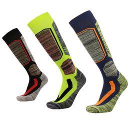 Wholesale free style climbing - 4 Styles Custom Logo Sock for Men Women Long Ski Socks Elasticity Sports Snowboard Climbing Camping Hiking Socks Free DHL G523S