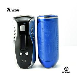 Оптово-100% оригинал HCigar VT250 коробка Mod Evolv DNA250 обломок наивысшей мощности 250W температурный контроль коробка Mod e-сигареты бесплатная доставка от