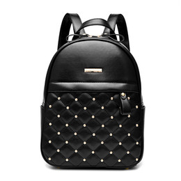 2018 New Pattern Woman Package Rivet Both Shoulders Package Fashion Package Single Shoulder Woman Bag da
