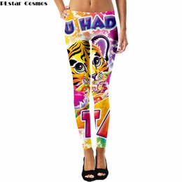 леггинсы ноги бесплатно Скидка PLstar Cosmos Lisa Frank cartoon style cute Leggings Popular  3D Full Print Women New Style drop shipping