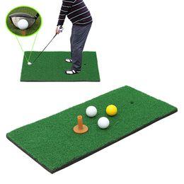 la pratique du tapis Promotion 30 * 60 Golf Frapper / Tapis d'Entraînement, Portable Chipping Chipping et Conduite De Conduite Nylon Turf Chipping Driving Practice Mat Intérieure