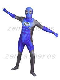 2019 festa de cosplay partido halloween deadpool 3D impressão deadpool lanterna corpo de super-heróis traje Spandex Lycra Zentai Cosplay Halloween Party Costume desconto festa de cosplay partido halloween deadpool