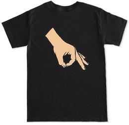 Canada CERCLE JEU DE LA MAIN VIRAL VIDÉO FACEBOOK INSTAGRAM SNAPCHAT FUNNY MEME HOMMES T-SHIRT T-shirt en coton T-shirt à la mode Livraison gratuite Offre