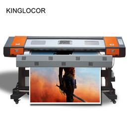 2019 kommerzielle etikettendrucker 1,8 mt 1800mm XP600 Druckmaschine 6 Farbe Rolle Papier Banner Aufkleber Tintenstrahldrucker