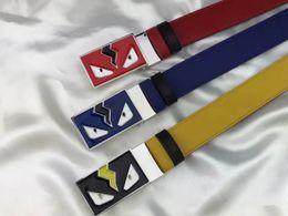 Canada 2018 haute qualité marque designer véritable ceinture en cuir bracelet de luxe mâle ceintures pour hommes femmes nouveau style de mode boucle avec boîte Offre