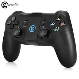 Controladores de juegos bluetooth android online-GameSir T1s 2.4GHz Bluetooth Gamepad inalámbrico Joystick Gaming Controller Juego Pad Holder para Android Sistema de Windows PS3