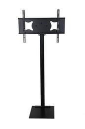 Напольные дисплеи онлайн-32-70 дюймов LCD вел высоту управления провода дисплея объявления шарнирного соединения наклона стойки пола держателя TV монитора плазмы наклона регулируемую MDL99B