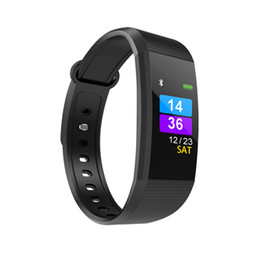 Wholesale Vehicle Ratings - I9 Smart Bracelet smart watch Heart Rate Monitor bluetooth blood pressure Health Fitness Smart Band for Android iOS activity tracker