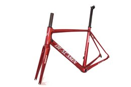 Wholesale cheap bikes free shipping - 2018 DEACASEN cheap bicycles Carbon Road bicycle Frame finished glossy new road bikes Frame+Fork+Seatpost+Headset+Clamp free shipping