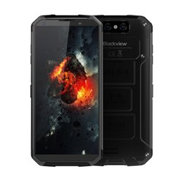 Jugar polvo online-4G 64GB NFC Blackview BV9500 4G LTE IP68 Resistente al polvo a prueba de agua Tri-prueba Octa Core Android 8.1 5.7 pulgadas FHD + Huella digital 10000mAh Smartphone