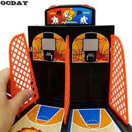 Wholesale Player Car Games - OCDAY 2 Players Tablet Basketball Toy Basketball Shooting Game Desktop Game Classic Tablet Games For Children Gift