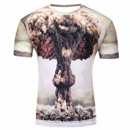 28d6efb4c3e3 t shirts water drops Promo Codes - Water Drop Mobile men 3D Print short  sleeves T