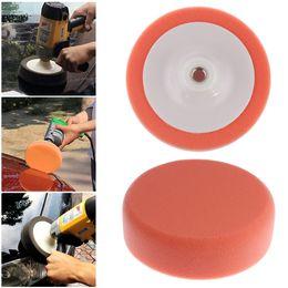 "Wholesale wax car care - 6"" Sponge Car Polishing Disc Car Beauty Care Products Pad Sponge Wheel Car Auto Waxing Polishing Disk"