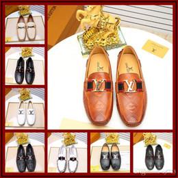 Mocassins originaux de luxe pour hommes, mocassins en cuir de daim pour hommes, créateurs OriginalCasual chaussures, chaussures de bateau classique Taille 38-45 ? partir de fabricateur