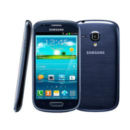 Wholesale Mobile S3 Mini - Original Refurbished Samsung I8190 Galaxy SIII 480 x 800 Mobile Phone Galaxy S3 Mini Cell Phone Dual-core 1500 mAh Android Phone 002868