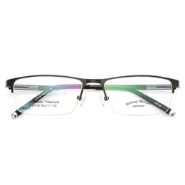 Canada Lunettes de vue Lunettes de vue Hommes Nerd Titanium Alliage Lunettes de marque Optical Tag pour hommes Transparent Lens cheap nerd brand eyeglasses Offre