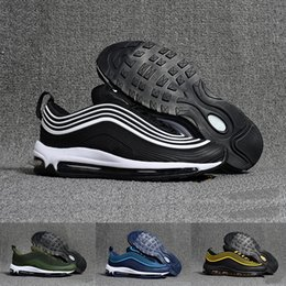 1e7a74db5c8e 2018 Air Undefeated 97 Running Shoes Silver Bullet Gold white 97s Men women  Casual Maxes Trainers Designer Sports Sneakers Chaussures 97 shoe deals