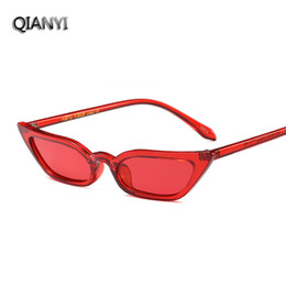 Wholesale United Cat - Fashion cool sunglasses chic new sunglasses Europe and the United States trend cats eye cool personality small box glasses glasses