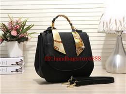 Wholesale Cotton Ribbons - Hiqh quality Fashion Women MICHAEL KALLY handbag brand flap Bag Messenger bags Purse lady cover Shoulder clutch bag saddle bags
