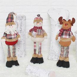 sagome di poltrone usate Sconti Regalo di natale Babbo Natale pupazzo di neve renne bambola navidad albero di natale appeso ornamenti ciondolo regalo decorazioni natalizie per la casa