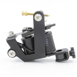 Nueva máquina de tatuaje de bobina 10 bobinas de abrigo Tatoo Gun Acero Máquina de tatuaje hecha a mano para el trazador de líneas Shader Envío gratis desde fabricantes