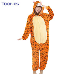 Wholesale Shirt Halloween Adult - Cute Halloween Adult Anime Pajama Sets Cartoon Sleepwear Women Pajamas Flannel Animal Panda dinosaur Pajama Winter Warm Hooded