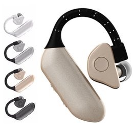 auriculares para pc Rebajas Bluetooth V4.0 INALÁMBRICO Q8 Auriculares In Ear Auriculares HIFI Auriculares Auricular Con Micrófono para el Teléfono / PC / Tablet / Reloj Inteligente