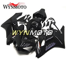 Carenagens fireblade honda on-line-Carenagens Para Honda CBR1000RR 2004 2005 Ano 04 05 Preto Fireblade Injeção Body Kits Motocicleta Fairing Carroçaria Painéis