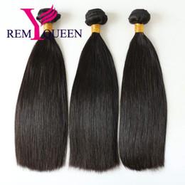 Argentina Remy Queen 8 A Virgin Virgin Double Drawn Hair Bundle Extension para mujeres negras de cabello humano envío gratis Suministro