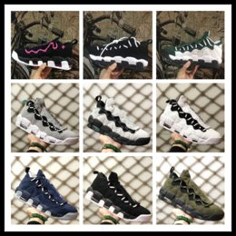 Wholesale hunt more - Top Air More Money 96 QS Sneaker air more money basketball shoes beneficence lovers 2018 almsdeed top quality sneaker size EUR 36