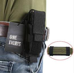 poche à outils molle Promotion OneTigris Tactical MOLLE Pliage Couteau Gaine Ceinture EDC Tool Pochette Simple Gaine Pistolet Mag Pouch Flashlight Cover