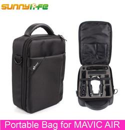 Wholesale Air Bag Shipping - Sunnylife DJI Mavic Air Drone Bag Portable Storage Bag Single Shoulder Bag Carrying Case Free Shipping