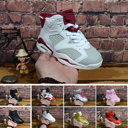 huge selection of 69657 a1d45 Nike air Jordan 6 12 13 retro Livraison gratuite 2018 Enfants 6 VI  Basketball Chaussures Enfants 6s Sports Garçons Filles Jeunes Bébé en plein  air Sneakers ...