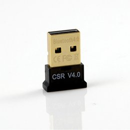 Wholesale Vista Adapter - Mini USB Bluetooth Adapter V4.0 Dual Mode Wireless Bluetooth Dongle CSR 4.0 USB2.0 3.0 for Win7 8 XP Vista