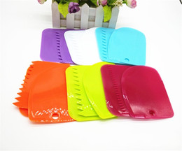 Wholesale Wedding Cutter - Plastic Cream Scraper Safe For Home Baking Cake Tool Easy To Clean Erasing Knife High Quality 1jy X