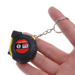 Wholesale Measuring Tape Wholesale - Ruler Tape Measure Mini Portable Pull Ruler Keychain Retractable Ruler Heart-shaped Tape Measure 1m