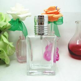 2019 botellas plásticas al por mayor Venta al por mayor vacío claro de vidrio aerosol botella de perfume 30 ML atomizador recargable botella de perfume con envío gratis W7968
