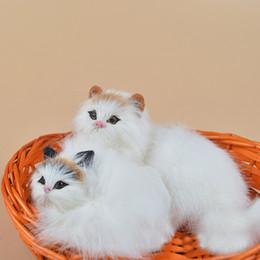 21 * 16 * 18 cm Lovely Cute Bamboo cesto di gatto gatto di simulazione giocattoli di peluche per soggiorno decorazione regali di Natale da