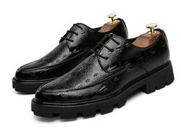 Wholesale Vintage Lace Cut Out Oxfords - Genuine Leather Handmade Shoes Men Vintage Carved Lace-up oxfords shoes for Men Dress shoes Size: EU38-43
